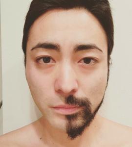 山田孝之さんのヒゲ
