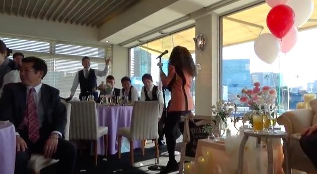 バブリーダンス 結婚式の余興