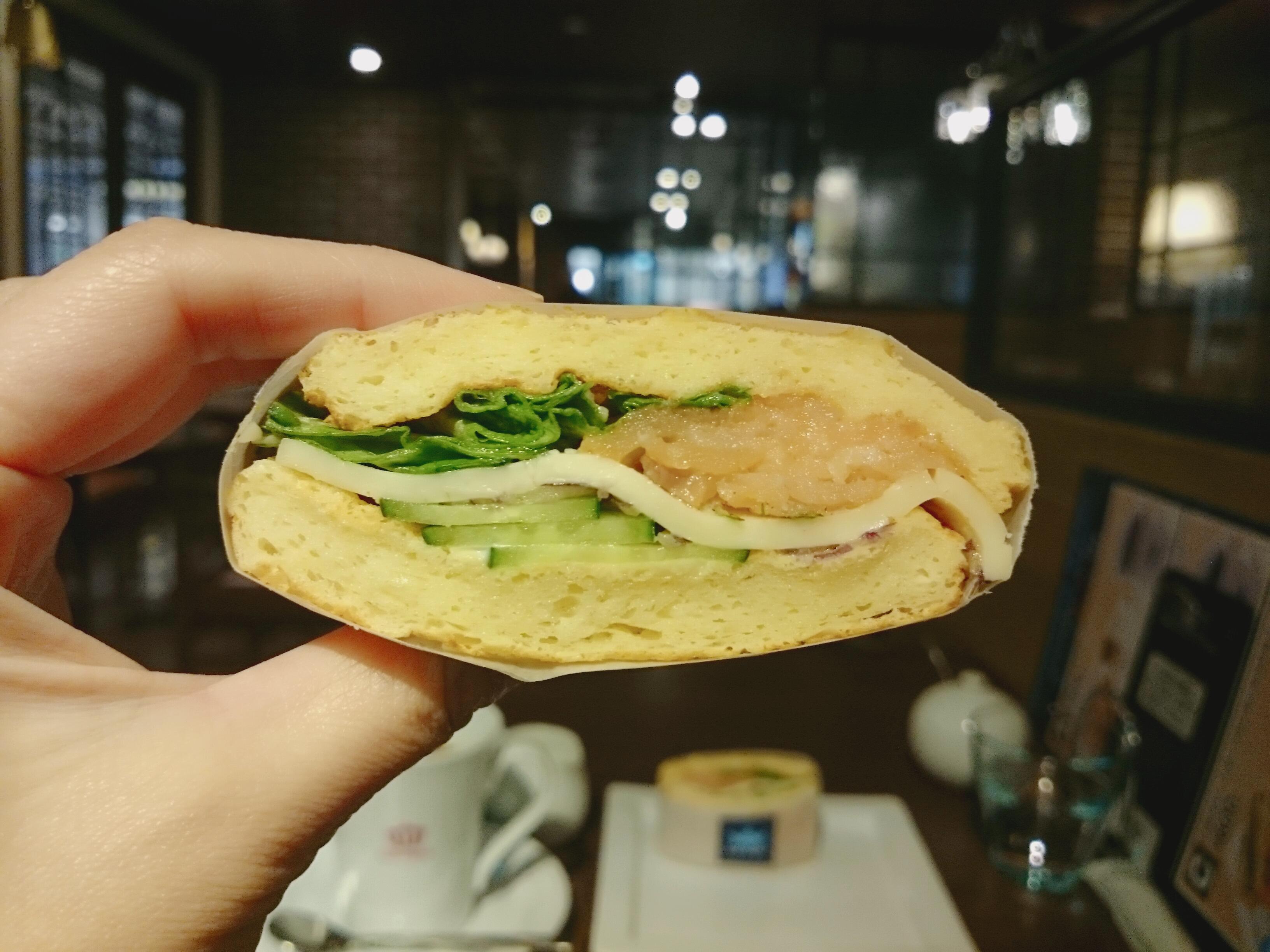 オスロコーヒー横浜ジョイナス店 ワッフル