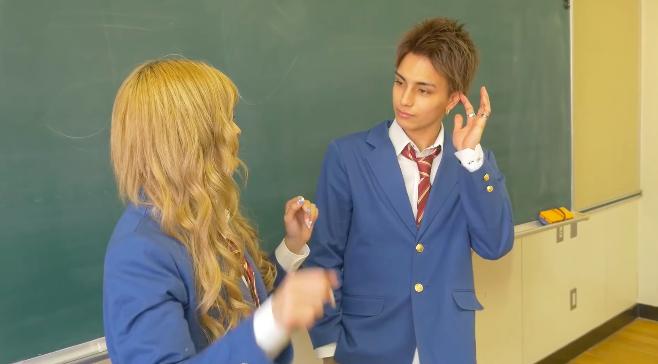 バンダリ亜砂也(あさや)高校時代の彼女はなちょす?と疑うくらい胸キュン動画6-2