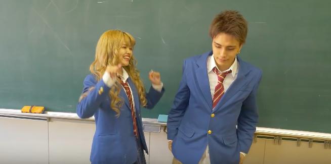 バンダリ亜砂也(あさや)高校時代の彼女はなちょす?と疑うくらい胸キュン動画4