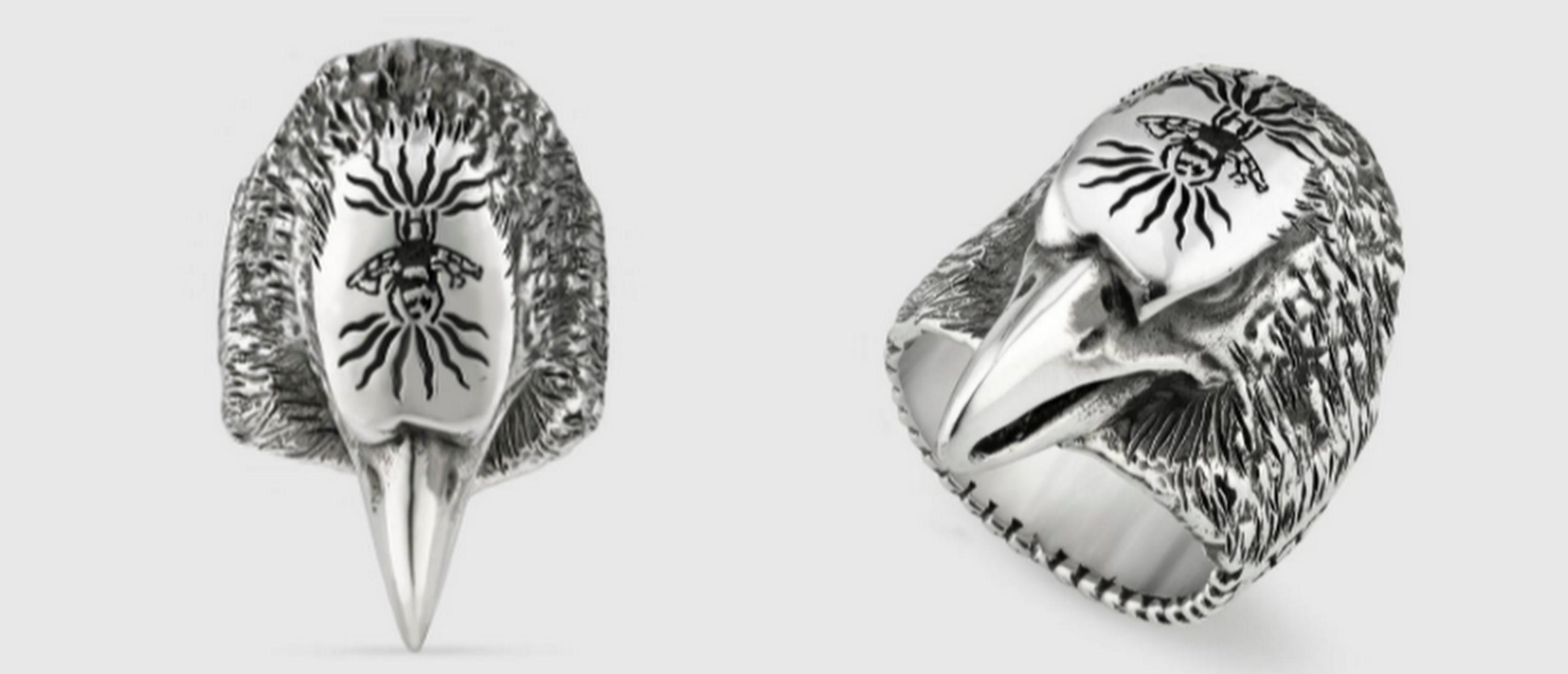 バンダリ亜砂也愛用のオオカミの指輪