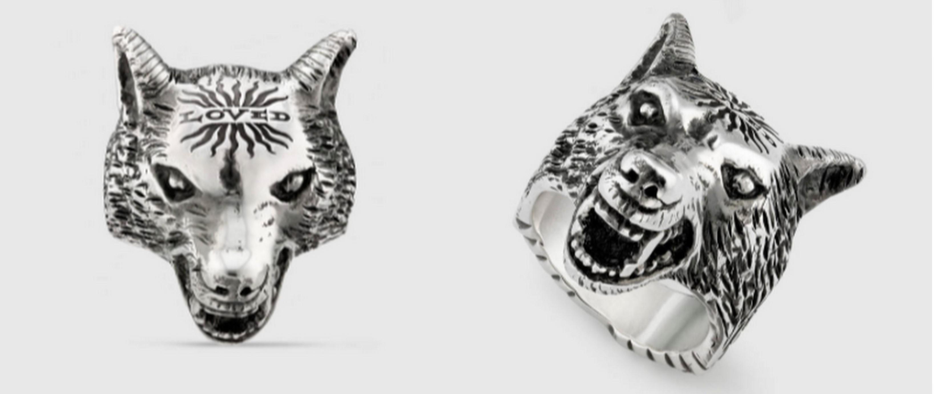 若槇太志郎(たいぞー)愛用のオオカミの指輪