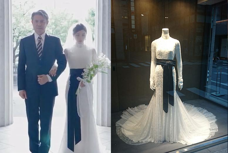 【高嶺の花】石原さとみ着用の花嫁衣装(ウエディングドレス)判明!隠された意味