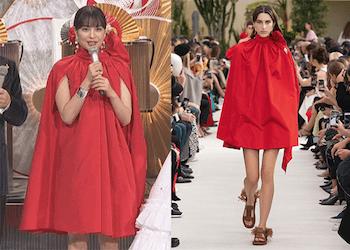 すると、広瀬すずさんの紅白の衣装(3着目)は、超有名ブランドである「ヴァレンティノ(VALENTINO」の2019年春夏パリ・コレクションで発表された赤 のドレスだという